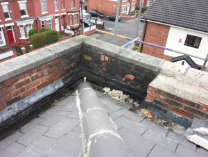 Kemperol  Roof - Stretford - Before