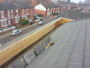 Kemperol  Roof - Stretford - Preparation
