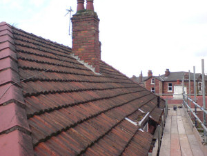 Tiled Roof - Before