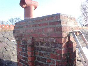 Chimney Rebuild - After