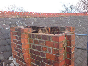 Chimney Rebuild - Before