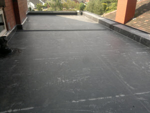 Rubber Roof - After