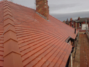 Tiled Roof - After