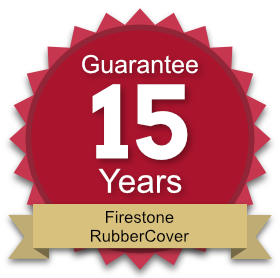 15 year guarantee on Firestone RubberCover roofing